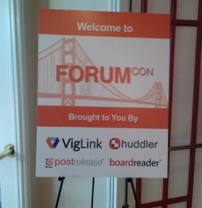 Join Me At ForumCon 2013